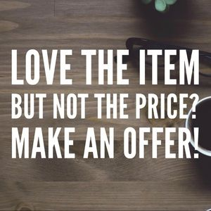 Other - 🌷 Make an offer!